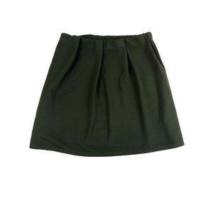 ASOS Pleated Knit Circle Skirt